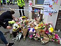 Flower tribute, Borough High Street (34988765961).jpg