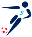 Football pictogram English Premier Legue hat-trick.png