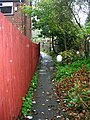 Footpath in the Rain^ - Skipton Road - geograph.org.uk - 1006244.jpg