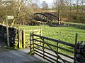 Footpath link onto cycle route - geograph.org.uk - 381581.jpg