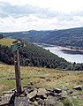 Footpath sign to Strines Upper Derwent - geograph.org.uk - 482136.jpg