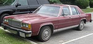 Ford LTD Crown Victoria - Image: Ford LTD Crown Victoria sedan 1