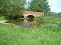 Ford in the field, Bridge on the road - geograph.org.uk - 439476.jpg