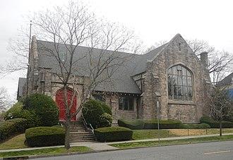 Forest Hill, Newark, New Jersey - Forest Hill Presbyterian Church