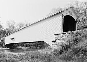 Forsythe Covered Bridge - Image: Forsythe Covered Bridge