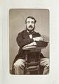 Fotografiporträtt på Eugen de Mellet, 1800-talets mitt - Hallwylska museet - 107642.tif