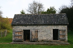 Small Old Stone Building
