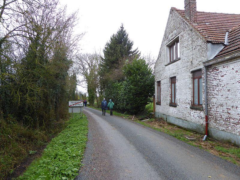 Route du Bas Flandre  Fournes-en-Weppes, France