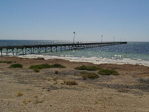 Fowlers Bay, South Australia - Image: Fowlers Bay jetty