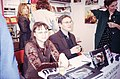 Françoise Foliot - Salon du Livre 1996 - Zoé Valdés & Rony Brauman 001.jpg