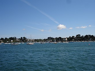 Île-aux-Moines - The island lies in the Gulf of Morbihan
