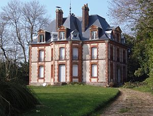 La Bazoque, Calvados - The Chateau near the Quarry