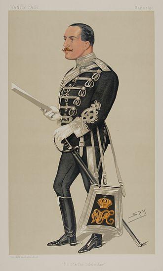 Francis Greville, 5th Earl of Warwick - Image: Francis Greville Vanity Fair 3 May 1890