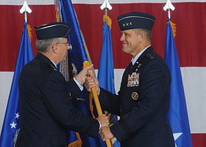 Frank Gorenc - Gorenc assuming command of 3rd Air Force in 2009.
