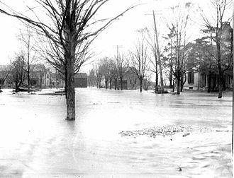 Franklin, Ohio - Flood of 1913
