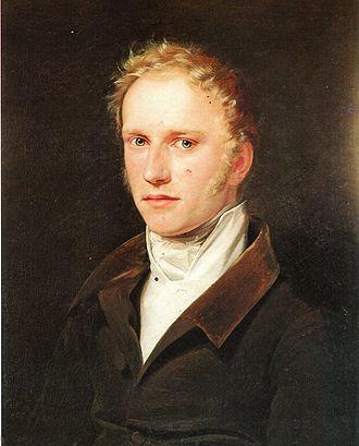 František Palacký - Palacký in 1821 in Vienna, painting by František Tkadlík