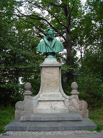 Wolfgang Franz von Kobell - Monument for Franz von Kobell in the Alter Südfriedhof, Munich