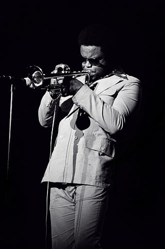 Freddie Hubbard - Hubbard performing in Rochester, New York, 1976