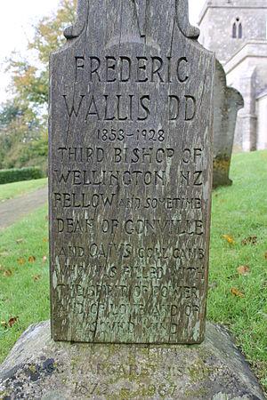 Frederic Wallis - Frederic Wallis memorial, Little Bredy