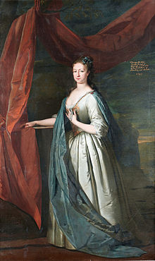 Frederica, Countess FitzWalter, by circle of Joseph Highmore.jpg