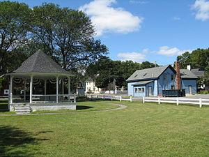 Assonet, Massachusetts - Assonet Bandstand
