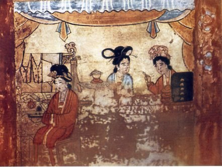 Fresco of the Tomb of Chao Ta-w%C3%AAng 1