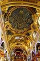 Fresco with Trompe l'oeuil - Andrea Pozzo -Jesuit Church Vienna.jpg