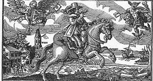 Lamoral II Claudius Franz, Count of Thurn and Taxis -  Post rider of the imperial post as ambassador of the Peace of Westphalia in 1648