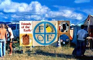 Friends of the Earth - 'Friends of the Earth' workshop, at Nambassa Festival 1978, New Zealand.