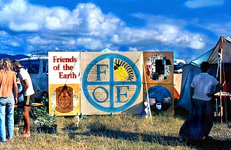 Friends of the Earth - 'Friends of the Earth' workshop, at Nambassa Festival 1978, New Zealand.
