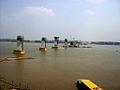 Friendship Bridge II under construction.JPG