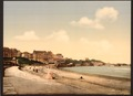 From the beach, Biarritz, Pyrenees, France-LCCN2001698616.tif
