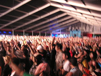 Fuji Rock Festival - Dancing with Santos in the Red Marquee