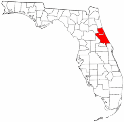 Map of Volusia-Flagler area