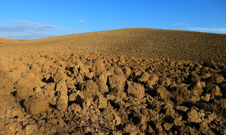 Tages - Furrows of the arable land in Umbria