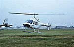 G-BEWY Bell Jet Ranger BEAS CVT 14-08-77 (32814780486).jpg