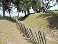 GA Richmond Hill Fort McAllister moat01.jpg
