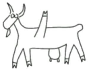 GEGL - Historically a GNOME easter egg, the GEGL mascot is a five-legged goat.(Genetically Engineered Goat, Large)