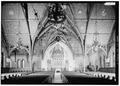 GENERAL VIEW FROM NAVE TO MEMORIAL APSE. - Cornell University, Sage Chapel, Central Avenue, Ithaca, Tompkins County, NY HABS NY,55-ITH,11B-11.tif