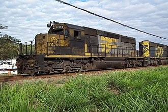 RFFSA - Image: GM SD40 2 5231 3 RFFSA