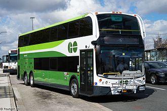GO Transit bus services - Image: GO Transit Super Lo Enviro 500 8308