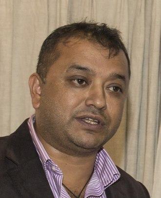 Gagan Thapa - Gagan Thapa during a program of ICIMOD Kathmandu