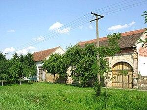 Gajdobra - Image: Gajdobra, old houses
