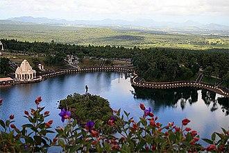 Hinduism in Mauritius - Image: Ganga Talao Lake