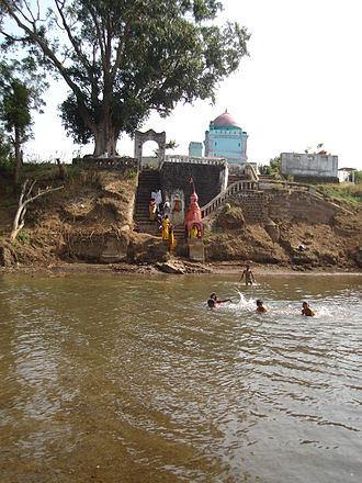 Purna River (tributary of Tapti) - Gangamai Temple