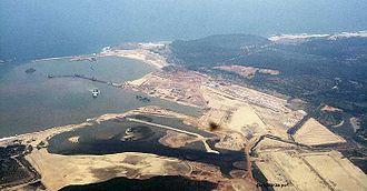 Gangavaram Port - Gangavaram port view