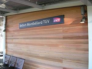 Gare de Belfort – Montbéliard TGV - Belfort – Montbéliard TGV railway station