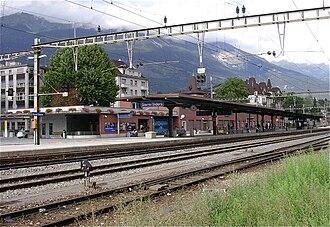 Sierre - Sierre railway station