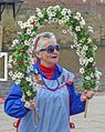 Garland dancer at York (26623945425).jpg