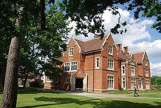 Hadlow College - Garrad House, the original Bourne Grange Estate house - now the college's main building